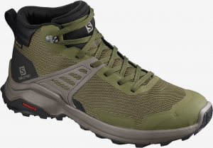 Buty Salomon X RAISE Mid GORE-TEX Olive Night/Black 410958