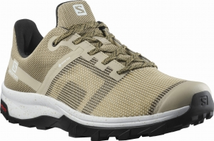 Buty Salomon OUTline PRISM GORE-TEX Safari/Black/White 413046