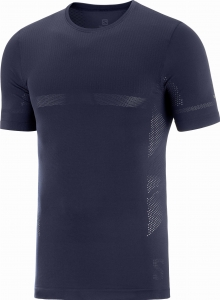 Koszulka Salomon SENSE SEAMLESS Tee M Night Sky