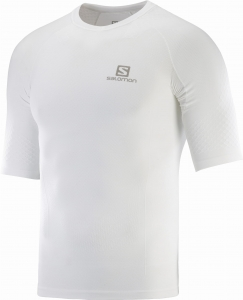 Koszulka Salomon EXO MOTION Tee M White