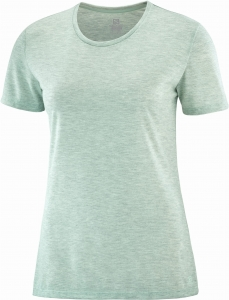 Koszulka Salomon COMET SHORT Sleeve Tee W Opal Blue