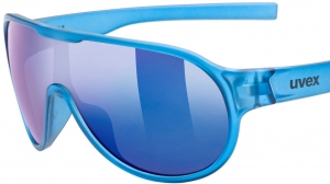 Okulary Uvex Sportstyle 512 Blue Transparent
