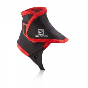 Ochraniacze Salomon Trail Gaiters Hight Black/Red