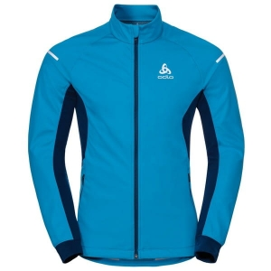 Kurtka Odlo Jacket Aeolus Warm Blue