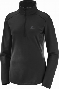 Bluza Salomon Discovery LT HZ W Black