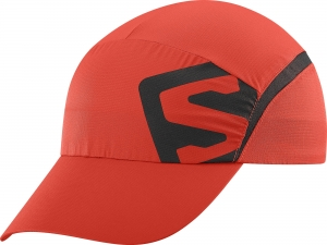 Czapka Salomon XA Cap Fiery Red/Black