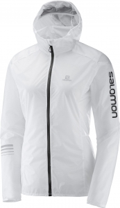 Kurtka SALOMON Lightning Wind Hoodie W White
