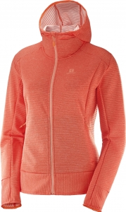 Bluza Salomon Right Nice Mid Hoodie W Nasturtium