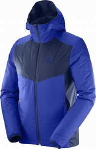Bluza SALOMON Drifter Mid Hoodie M Surf The Web