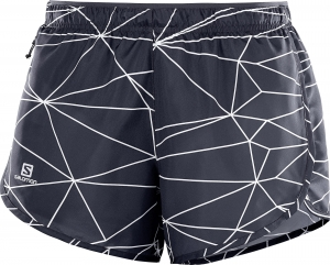 SPODENKI SALOMON AGILE SHORT W Graphite/White