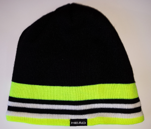 Czapka Head Beanie Legend Black/Yellow