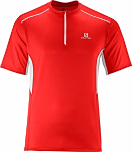 Koszulka SALOMON Start ZIP Tee M Matador