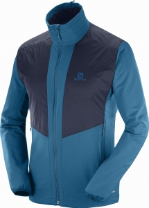 BLUZA SALOMON ACTIVE WING JKT M Moroccan Blue