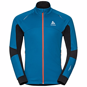 Kurtka Odlo Jacket Aeolus Windstopper Blue