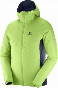Bluza SALOMON Drifter Mid Hoodie M Greenery/Night Sky