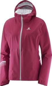 KURTKA SALOMON LIGHTNING WP JKT W Beet Red