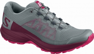 Buty SALOMON Xa Elevate W Lead/Beet Red
