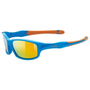 OKULARY UVEX SPORTSTYLE 507 Blue Mat/Mirror Orange S3