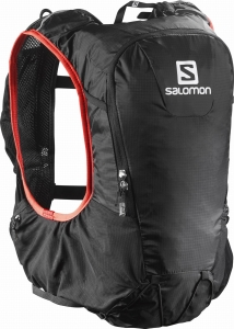Plecak SALOMON Skin Pro 10 Set Black/Bright Red