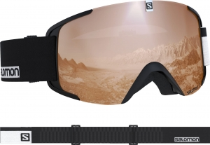 Gogle Salomon XVIEW Acces Black/Uni. White