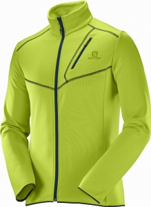 Bluza SALOMON Discovery FZ M Acid Lime