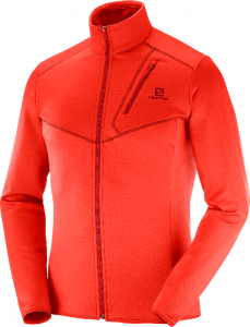 Bluza Salomon Discovery FZ M Fiery Red