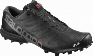 Buty Salomon S/LAB Speed 2 Black/Racing Red
