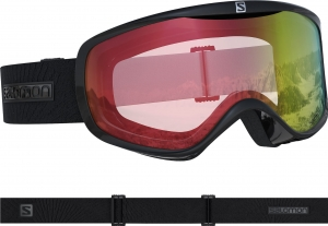 Gogle Salomon Sense Photo Black Weather Red