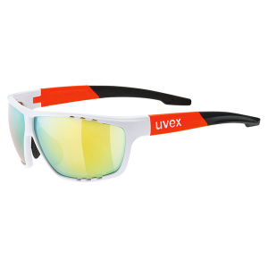 UVEX Sportstyle 706 White Mat Orange