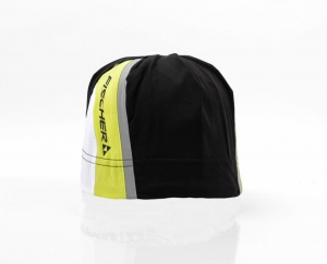 Czapka Fischer Racing Cap Alta Black/Yellow