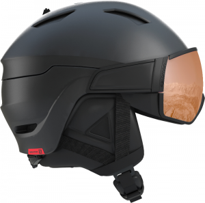 Kask Salomon Driver S  Black Red Accent