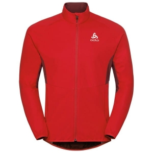 Kurtka Odlo Jacket Aeolus Element Warm Red 2019