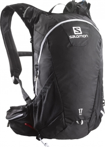 PLECAK SALOMON AGILE 17 Black/Iron/White