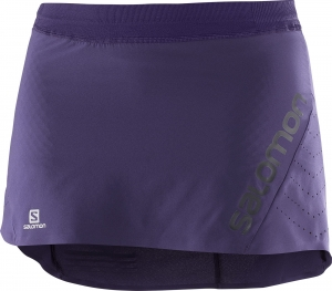 SPÓDNICO-SZORTY SALOMON LIGHTNING PRO SKORT W Purple