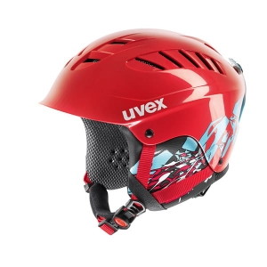 Kask UVEX X-Ride Junior Motion Red
