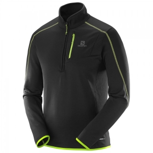Bluza SALOMON ATLANTIS HZ M Black/Yellow