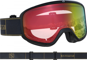 Gogle Salomon Four Seven Photo Black/Red