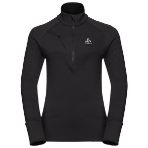 Bluza Odlo Midlayer 1/2 zip Birdy Black