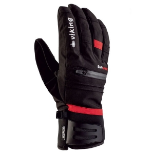 Rękawice VIKING Kuruk Black/Red