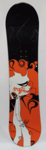 Deska Snowboardowa Maffia Kids Black/Orange