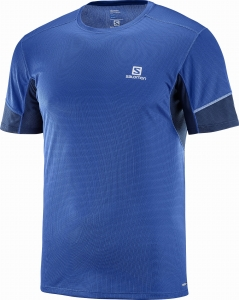 Koszulka SALOMON Agile SS TEE M Surf The Web