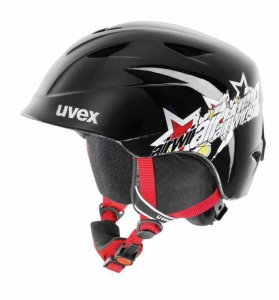 Kask UVEX Airwing II Black Shiny