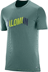 Koszulka Salomon Cosmic Logo SS TEE M North Alta