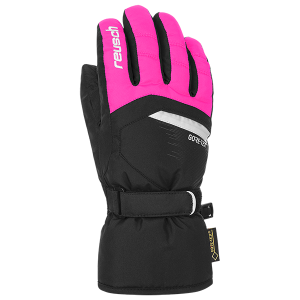 Rękawice Reusch BOLT GTX Junior Black/Pink