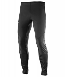 Spodnie Salomon Agile Softshell Tight M Black