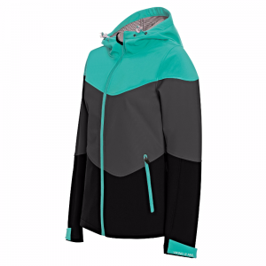 KURTKA VIKING VELA Mint Blue/Grey/Black