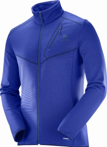 Bluza Salomon Discovery FZ M Surf The Web