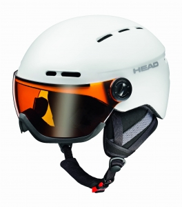 Kask Head Knight Pro White + Sparelens