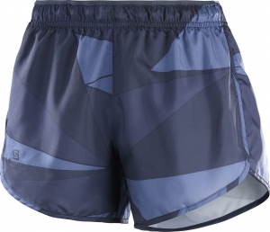 SPODENKI SALOMON AGILE SHORT W Night Sky