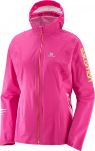 Kurtka Salomon Lighting Pro WP JKT W Pink